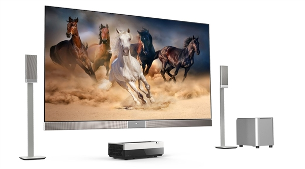 9万元!海信首款100寸4K激光电视霸气发布