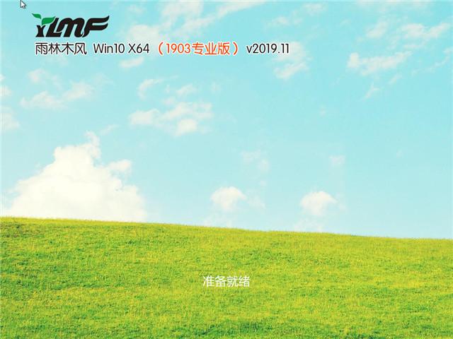 雨林木风 Win10 x64(1903专业版)v2019.11