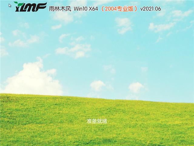 雨林木风 Win10 64位专业版(2004) v2021.06